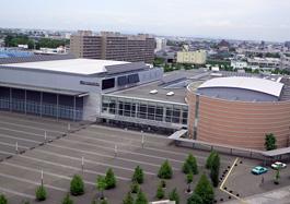 コンベンションセンター 太陽光発電全景