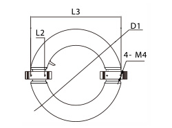 発光管(サークルタイプ)