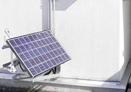 太陽光モジュール設置