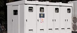 電材卸エミヤの高効率キュービクル